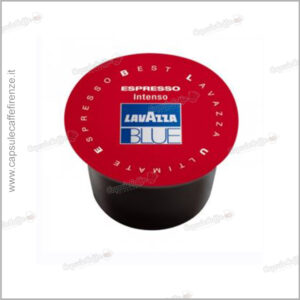 capsule intenso lavazza blue